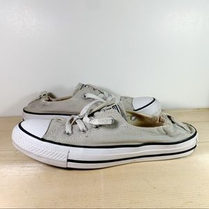 Converse Tan Canvas Low-Top Sneakers